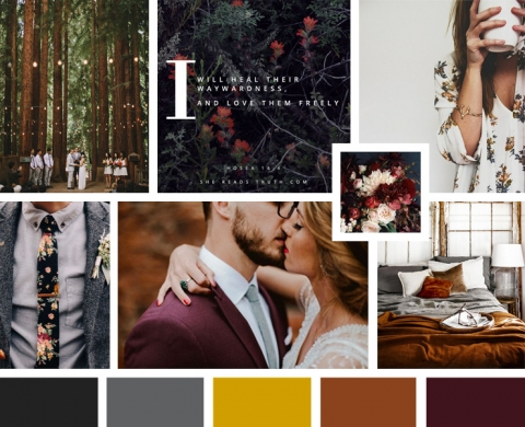 Modern Hipster earthy organic ProPhoto Website Design