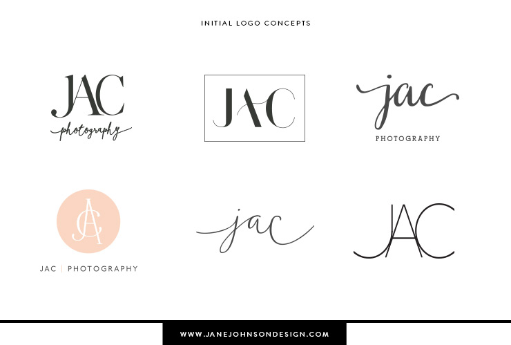Newborn photographer logo design